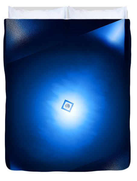Space Design Duvet Cover by Kellice Swaggerty