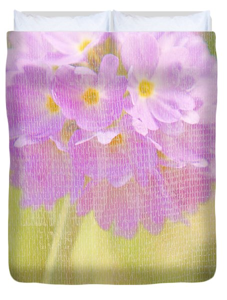 Sphere Florale - 01tt01a Duvet Cover by Variance Collections