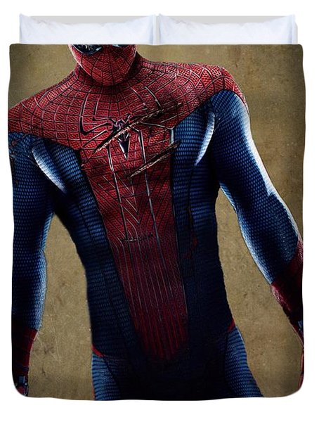 Spider-man 2.1 Duvet Cover by Movie Poster Prints