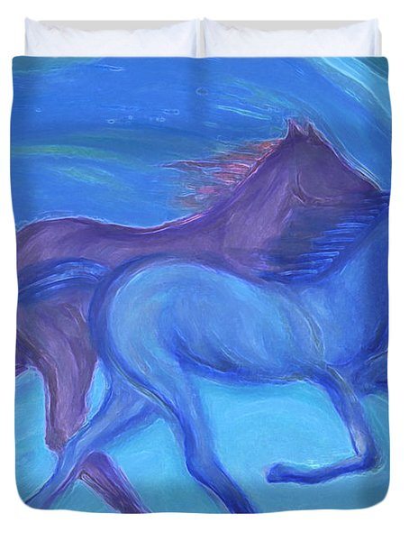 Spirit Guide by jrr Duvet Cover by First Star Art