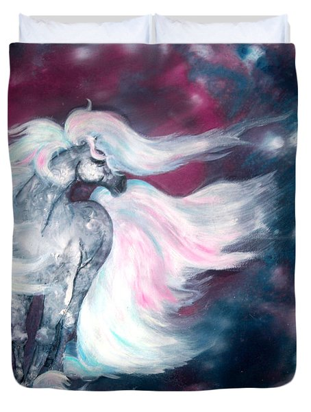 Spirit Horse Duvet Cover by Sherry Shipley