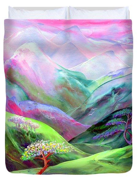 Spirit Of Spring Duvet Cover by Jane Small