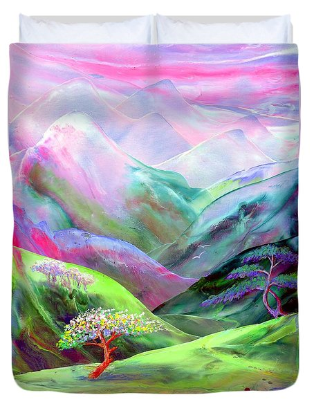 Spirit of Spring Duvet Cover by Jane Small