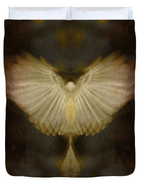 Spirit Rising Duvet Cover by WB Johnston