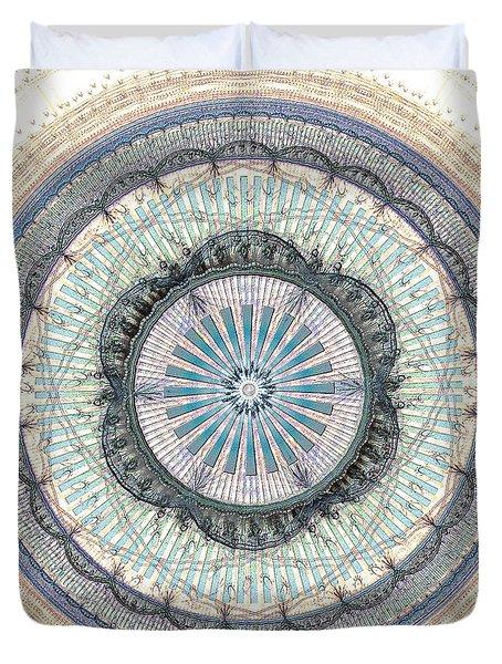 Spiritual Growth Duvet Cover by Anastasiya Malakhova