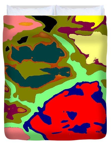 Splatter  Duvet Cover by Joseph Baril