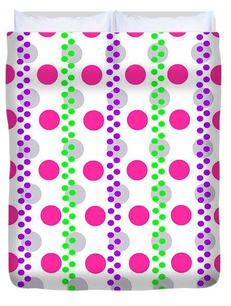 Spotty Stripe Duvet Cover by Louisa Hereford