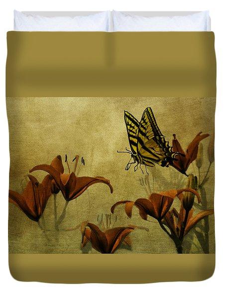 Spring Fever Duvet Cover by Diane Schuster