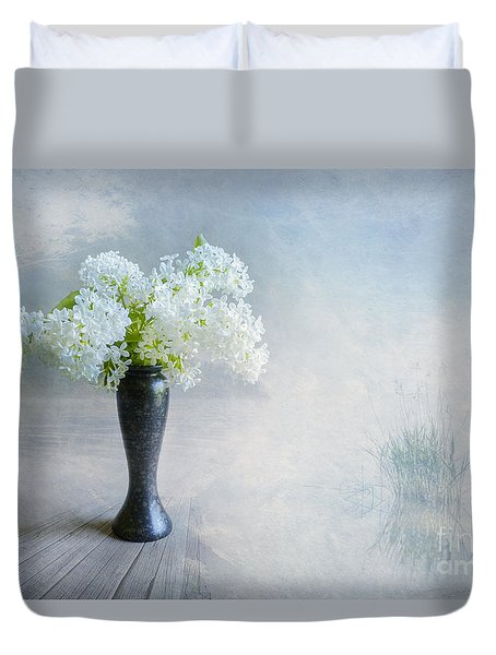 Spring Flowers Duvet Cover by Veikko Suikkanen