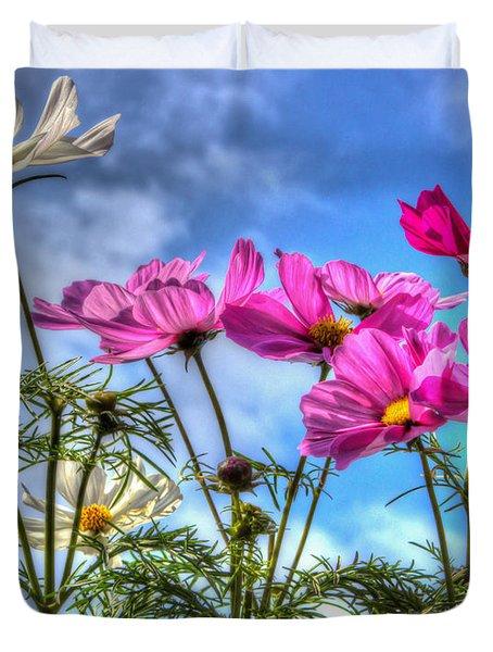 Spring In Full Swing Duvet Cover by Heidi Smith