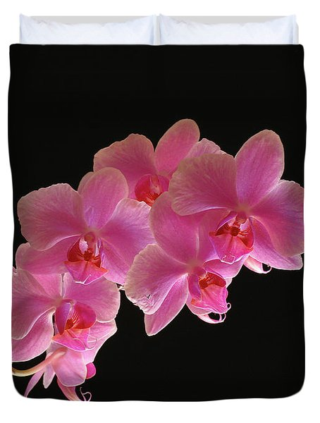 Spring Orchids Duvet Cover by Juergen Roth