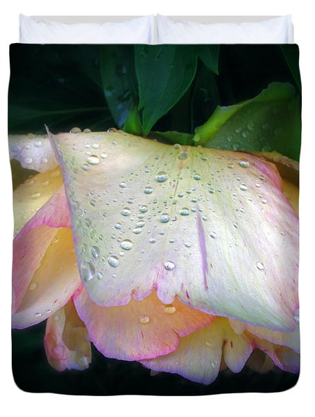 Spring Pearl Duvet Cover by Jessica Jenney