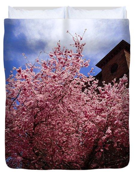 Spring Duvet Cover by Robert Nickologianis