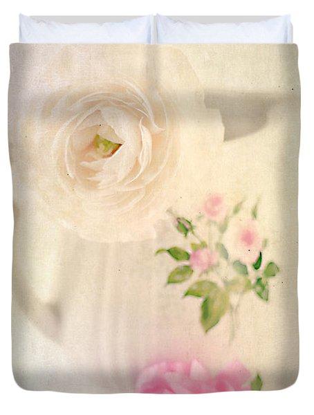 Spring Romance Duvet Cover by Darren Fisher
