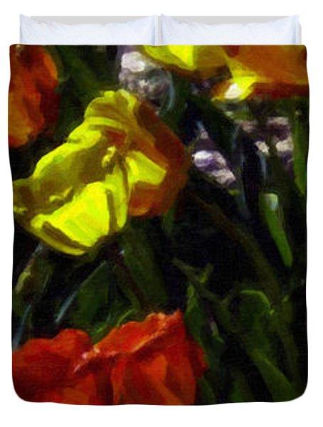 Spring Sunshine Duvet Cover by F Leblanc
