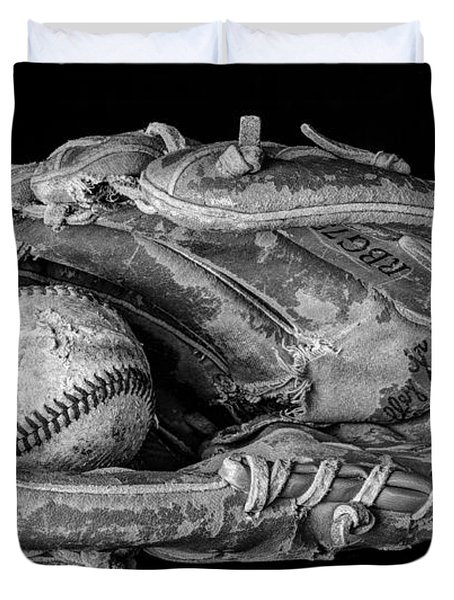 Spring Training Duvet Cover by Jeff Burton