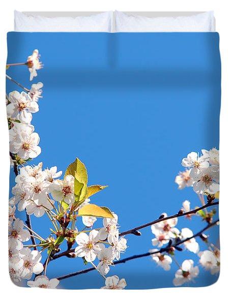 Spring Tree Duvet Cover by Michal Bednarek