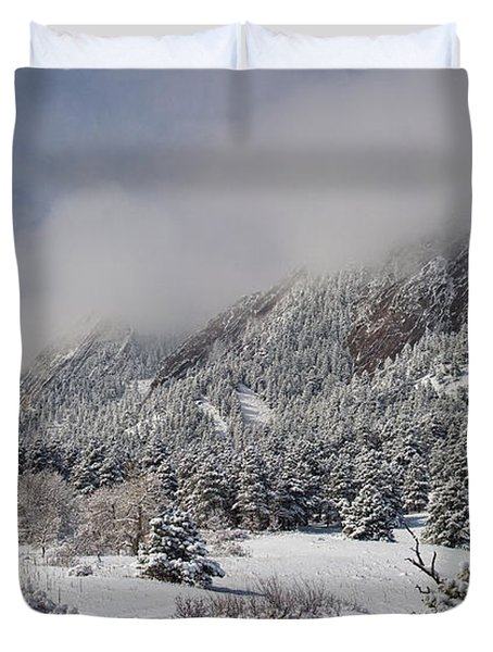Springtime Colorado Rocky Mountains Boulder Duvet Cover by James BO  Insogna