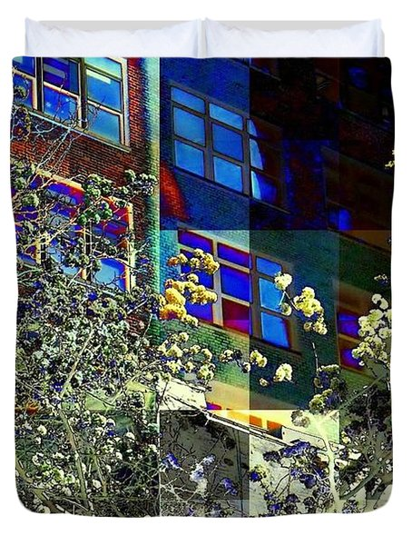 Springtime In New York 8 Duvet Cover by Miriam Danar