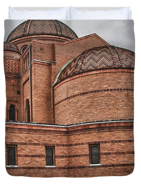 St Casimir's 10248 Duvet Cover by Guy Whiteley