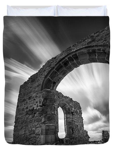 St Dwynwen's Church Duvet Cover by Dave Bowman