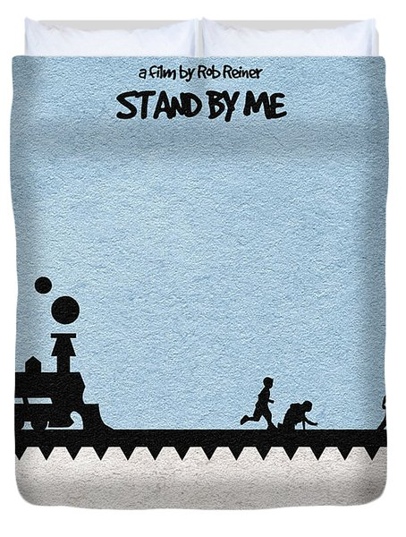 Stand By Me Duvet Cover by Ayse Deniz