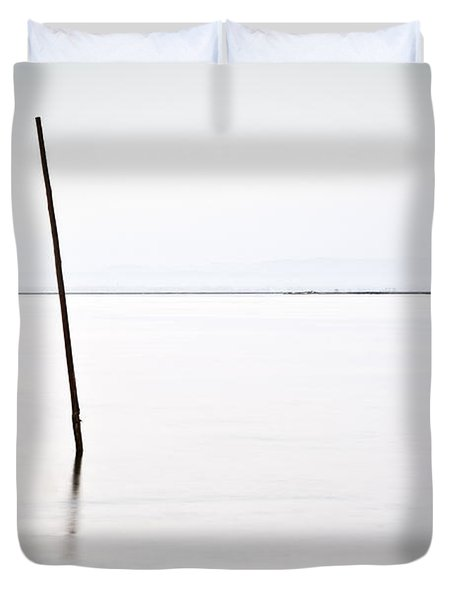 Standing alone Duvet Cover by Jorge Maia