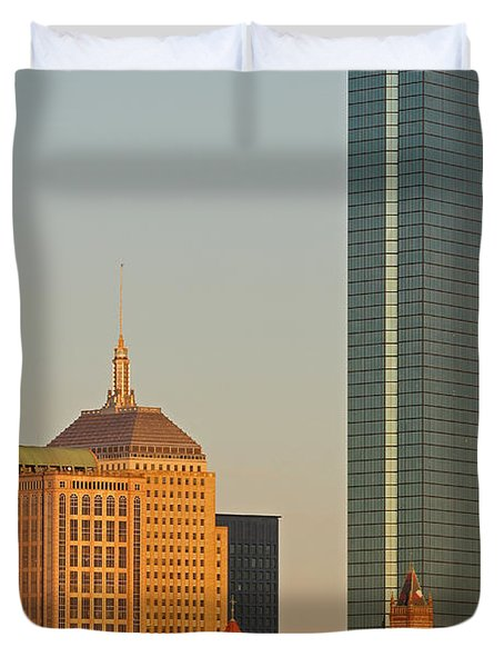 Standing Tallest Duvet Cover by Juergen Roth