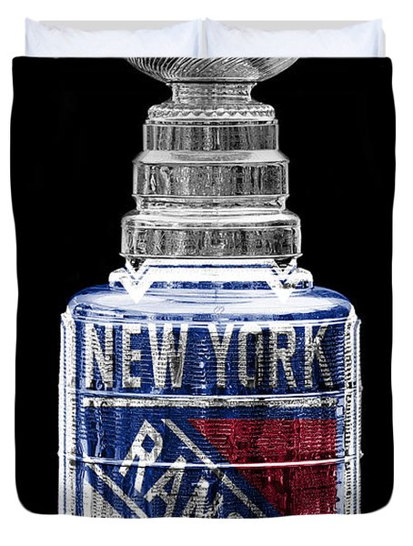 Stanley Cup 4 Duvet Cover by Andrew Fare