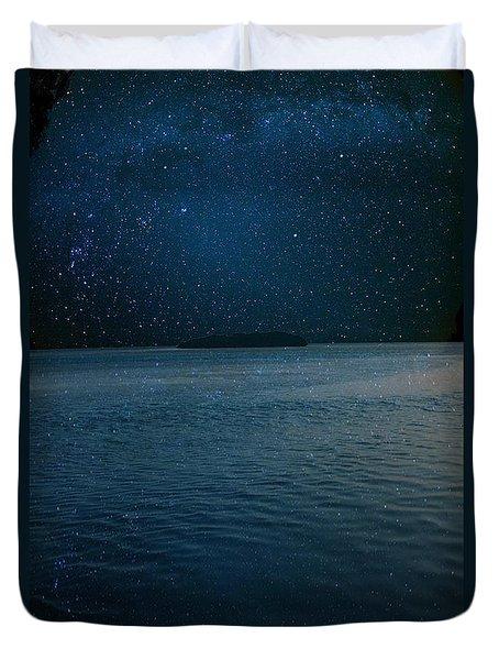 Star Island Duvet Cover by AR Annahita