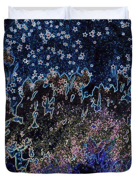 Stardust by jrr Duvet Cover by First Star Art