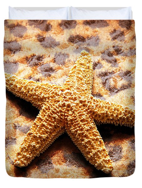 Starfish Enterprise Duvet Cover by Andee Design