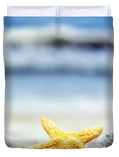 Starfish Duvet Cover by Michal Bednarek
