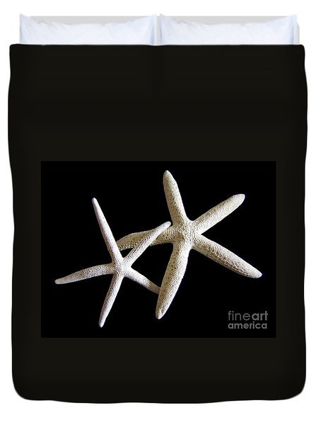 Starfish Tango Duvet Cover by Mary Deal