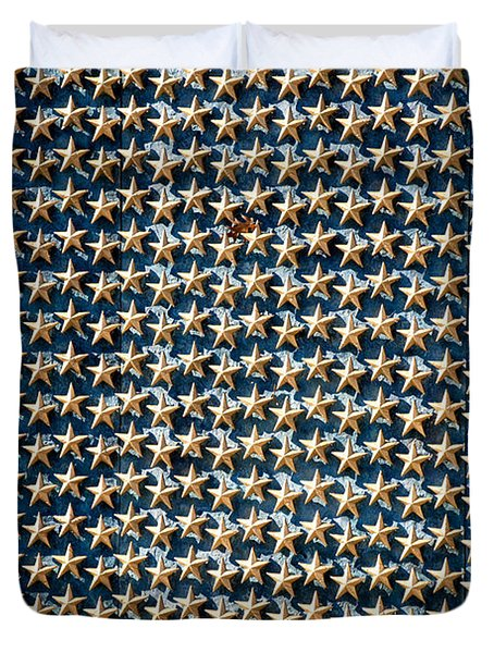 Stars Duvet Cover by Greg Fortier