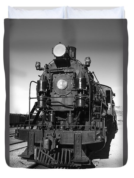 Steam Engine Duvet Cover by Robert Bales
