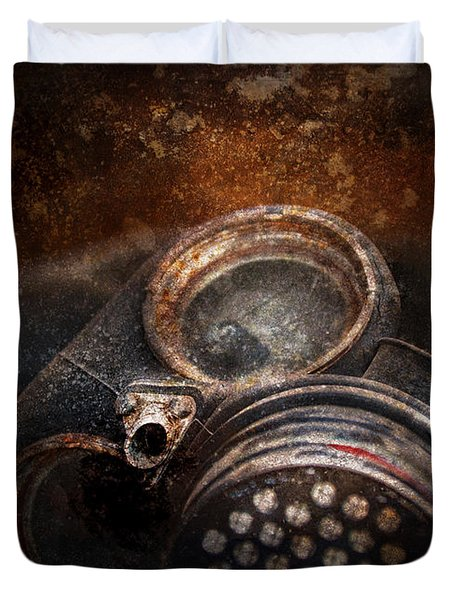 Steampunk - Doomsday  Duvet Cover by Mike Savad