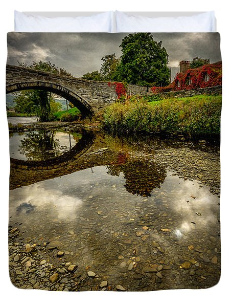 Stone Bridge Duvet Cover by Adrian Evans