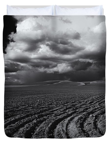 Storm Path Duvet Cover by Mike  Dawson