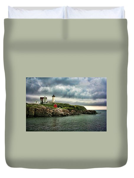 Storm Rolling In Duvet Cover by Heather Applegate