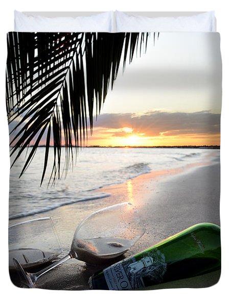 Lost In Paradise Duvet Cover by Jon Neidert