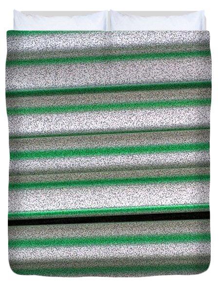 Straw Green Duvet Cover by Carol Lynch