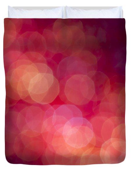Strawberry Sherbet Duvet Cover by Jan Bickerton