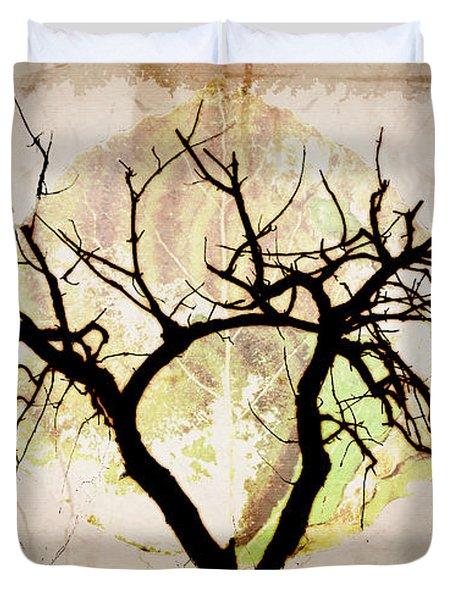 Stretching Duvet Cover by Brett Pfister