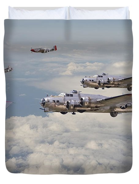 Strike Package Duvet Cover by Pat Speirs