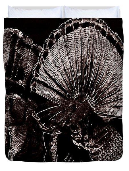 Strutters Duvet Cover by Todd Hostetter