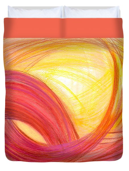 Sublime Design Duvet Cover by Kelly K H B