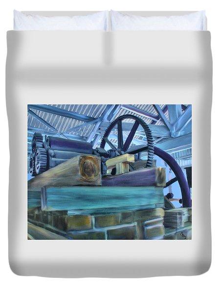 Sugar Mill Gizmo Duvet Cover by Deborah Boyd