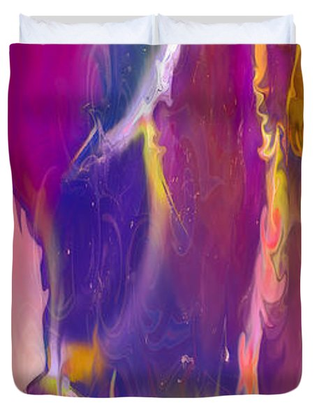 Sultry Movement Duvet Cover by Omaste Witkowski