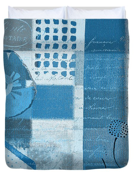 Summer 2014 - J088097112-blueall Duvet Cover by Variance Collections